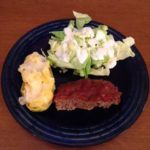 Mom's Meatloaf and Twice Baked Potatoes