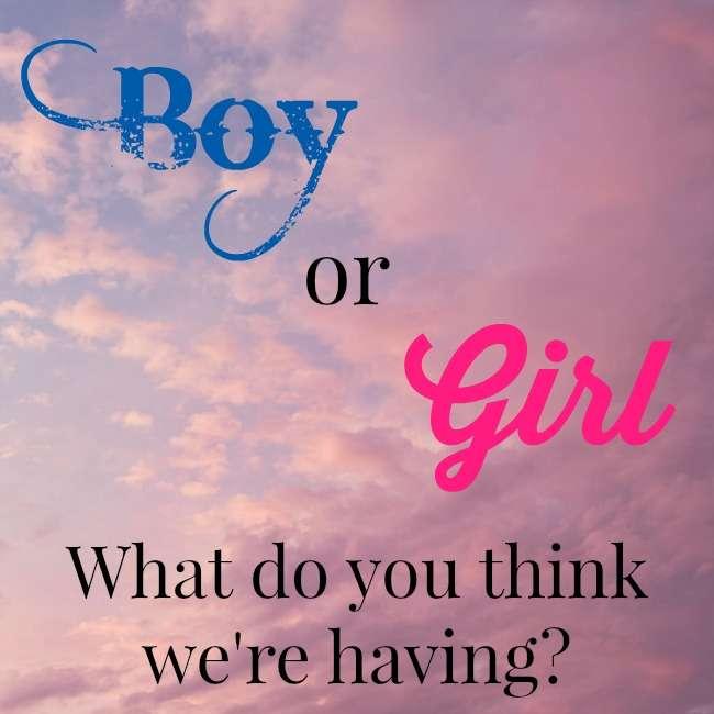 gender guess giveaway balancing today