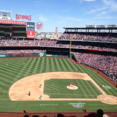 Nationals Opening Day 2012