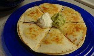 MorningStar Farms Spicy Black Bean Quesadilla
