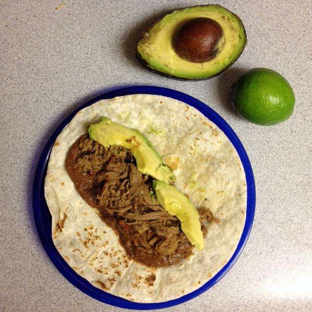 Crock Pot Chipotle Brisket Tacos - Balancing Today