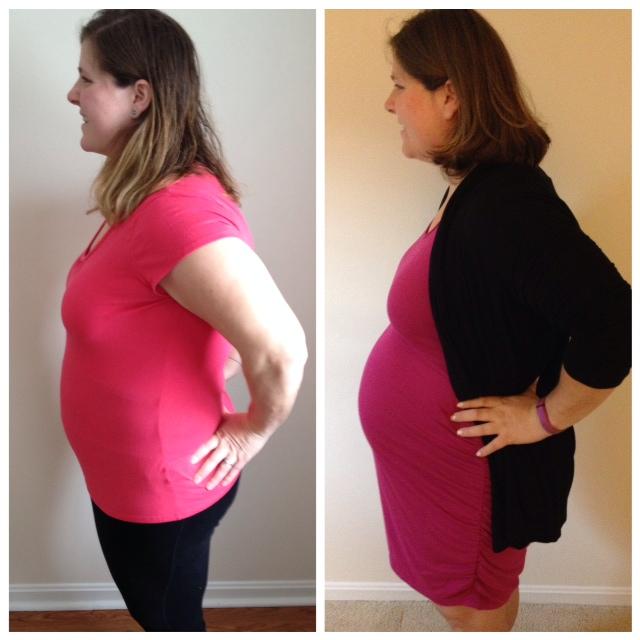 13 weeks vs 33 weeks Pregnancy Update