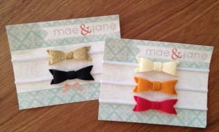 Mae and Jane Baby Headbands