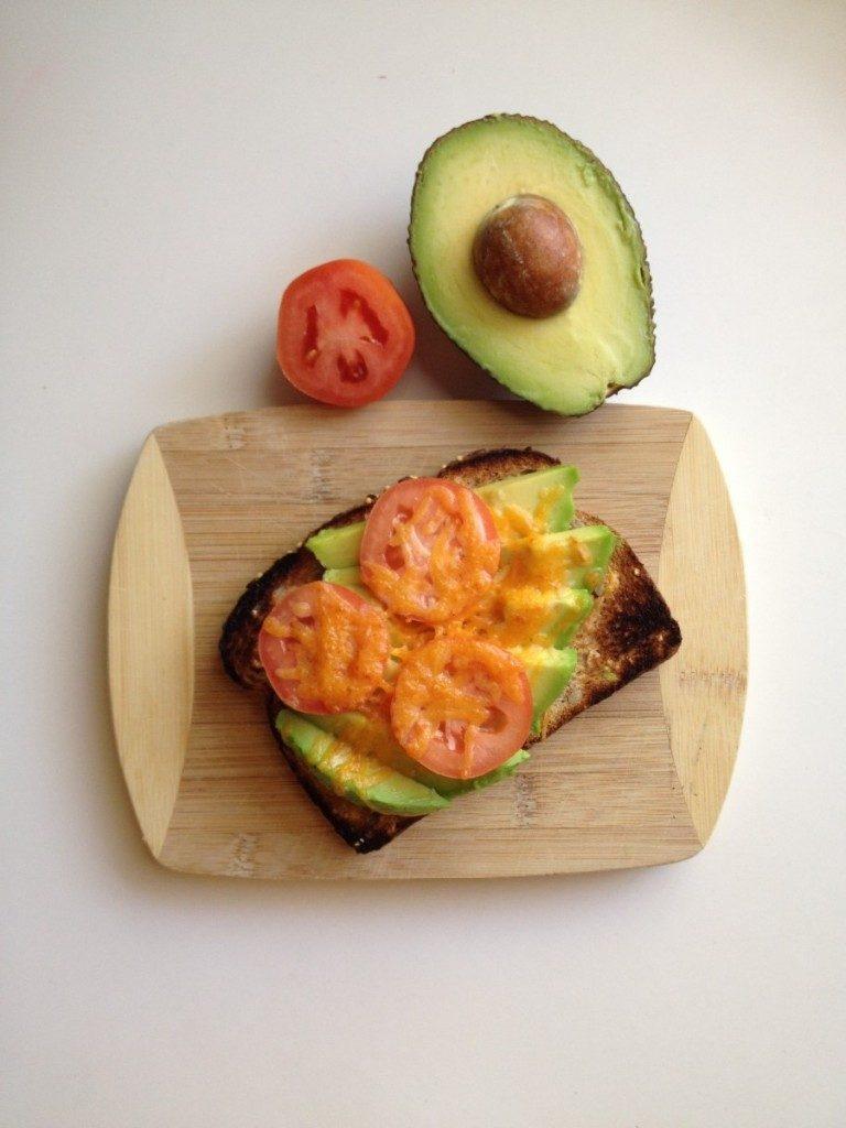 Cheesy Avocado Toast