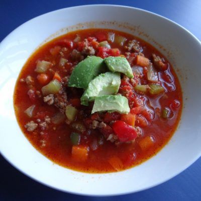 Crockpot No-Bean Chili