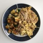 Breakfast Idea Using Leftover Rotisserie Chicken