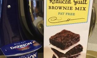 Reduced Guilt Coffee Brownies