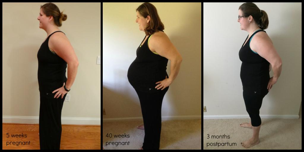 pregnancy postpartum comparison