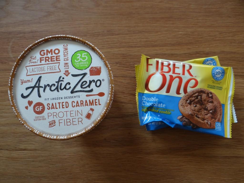 Arctic Zero and Fiber One Cookie Ice Cream Sandwiches
