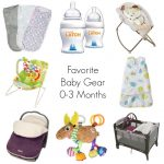 Favorite Baby Gear 0-3 Months