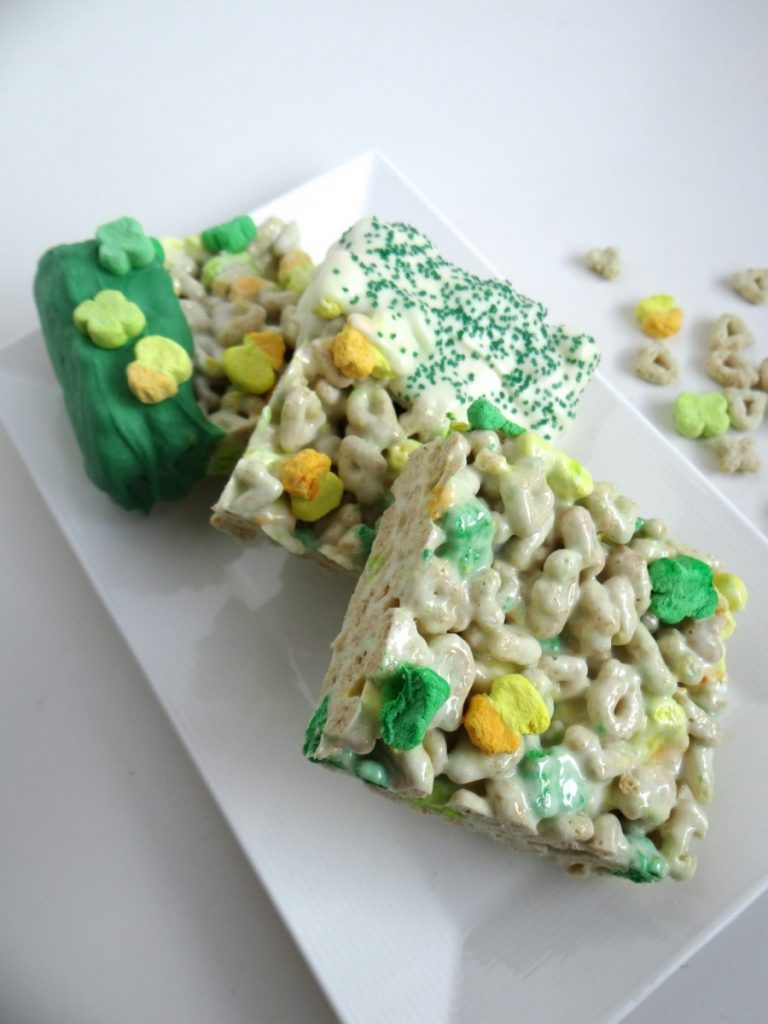 St. Patrick's Day Lucky Charms Marshmallow Treats