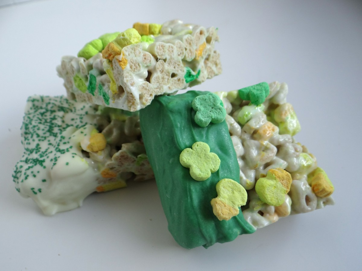 st s day lucky charms marshmallow treats