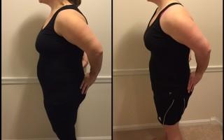 1 month postpartum vs 7 months postpartum