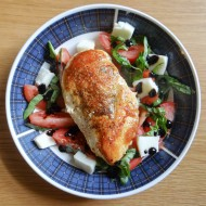 Simple Caprese Chicken Dinner