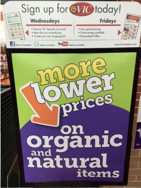 Harris Teeter More Lower Prices