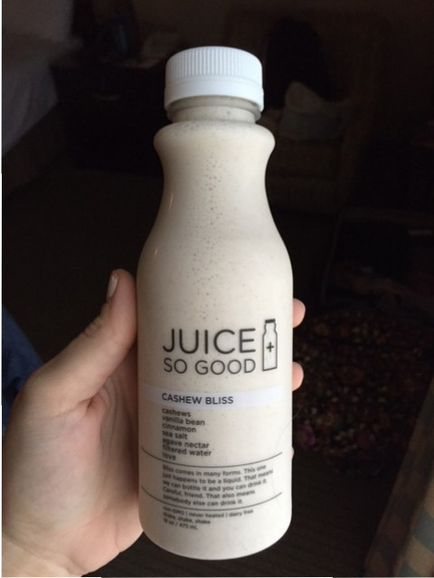Juice So Good Cashew Bliss