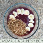 Homemade Acai Berry Bowl