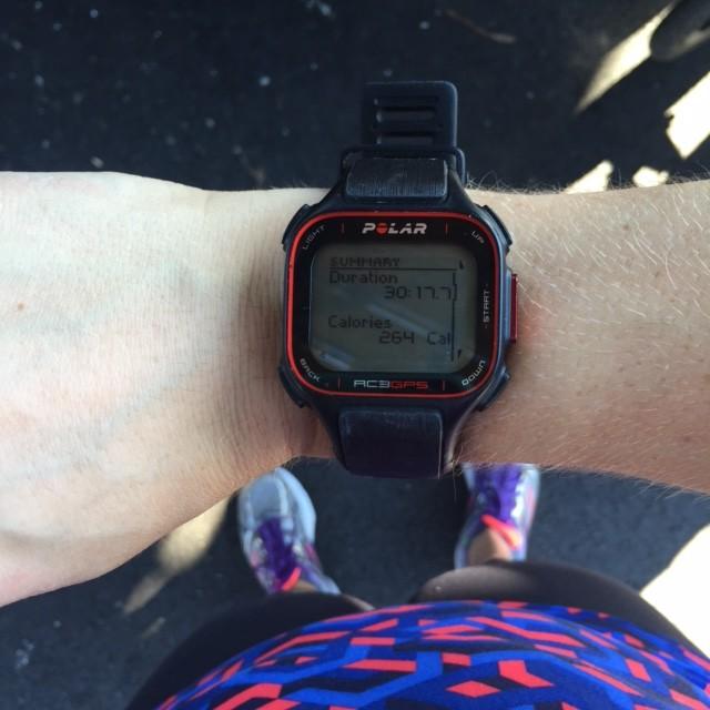 Running workout