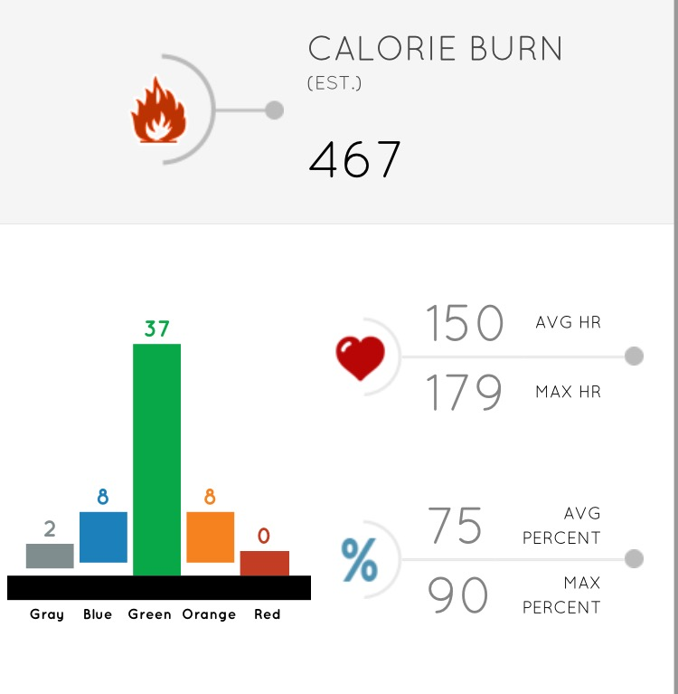 Orange Theory Results