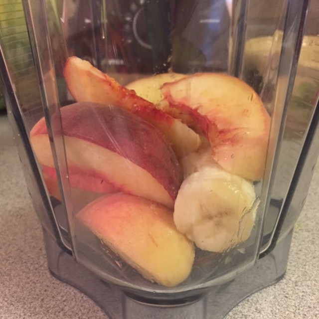 Peach and Banana Smoothie