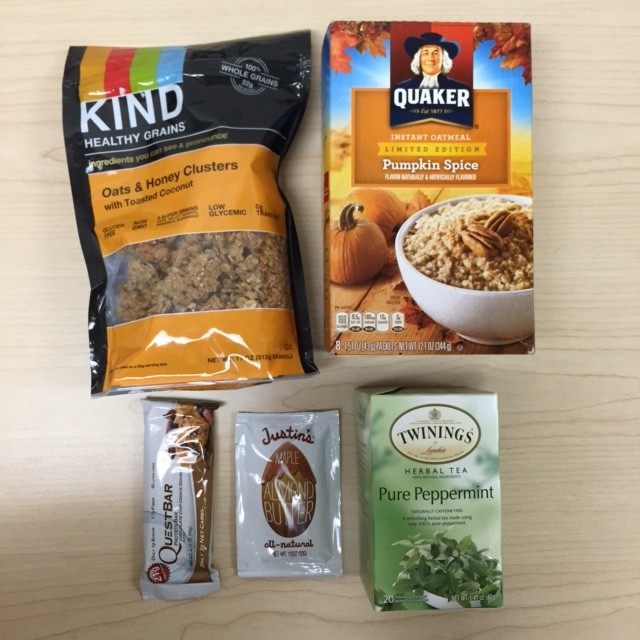 Foods to Pact For the Work Day