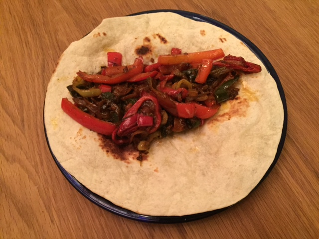 sauteed vegetable tacos