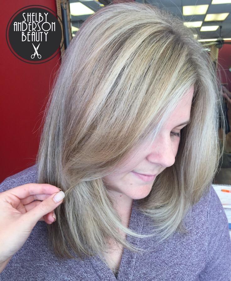 Shelby Anderson Vichelle's Hair Salon
