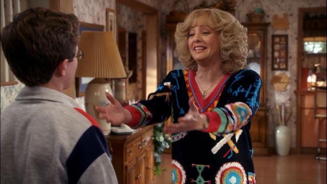 Beverly Goldberg Cuddles