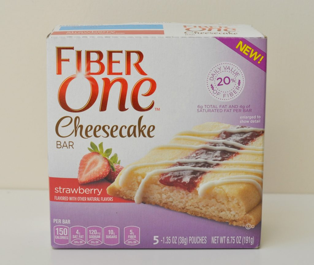 Fiber One Cheesecake Bar Review