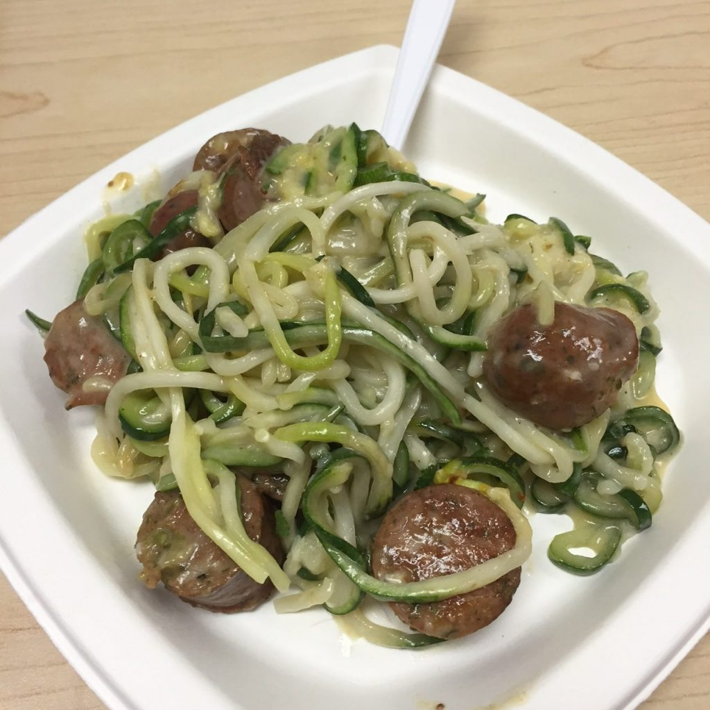 Zoodles Lunch