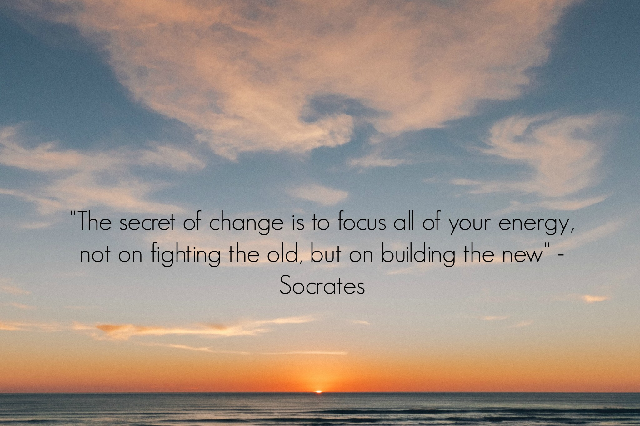 Socrates Quotes On Marriage: The Secret Of Change Socrates Quote