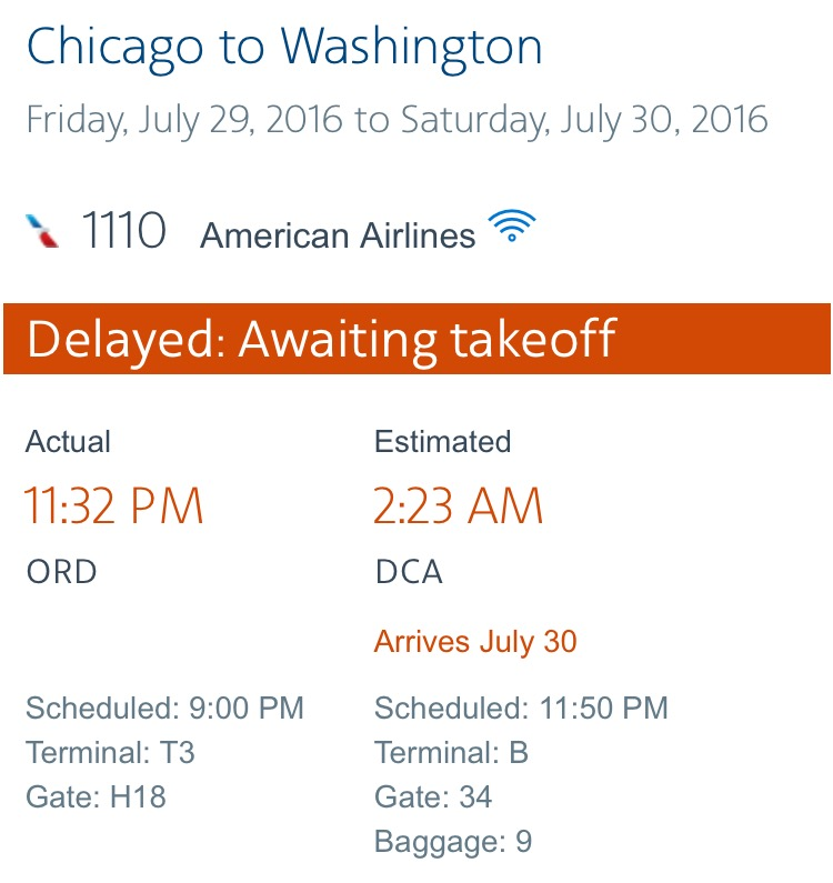 Chicago Flight Delays