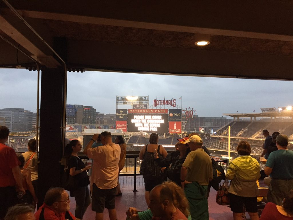 Billy Joel Rain Delay