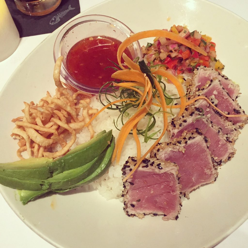 Bonefish Grill Spicy Tuna Bowl