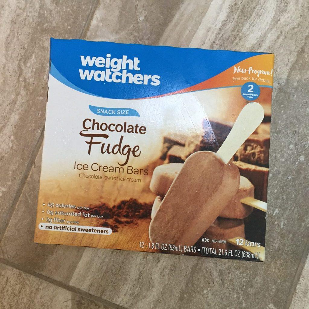 Weight Watchers Chocolate Fudge Ice Cream Bars