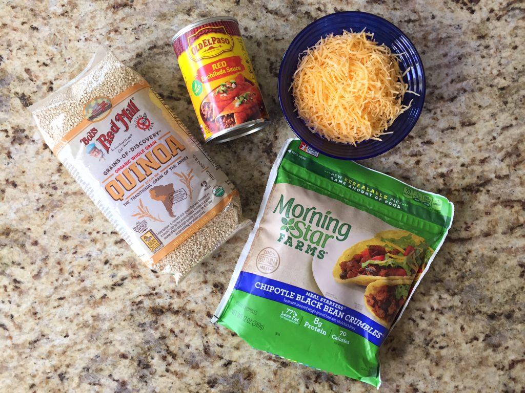 Enchilada Quinoa Bites