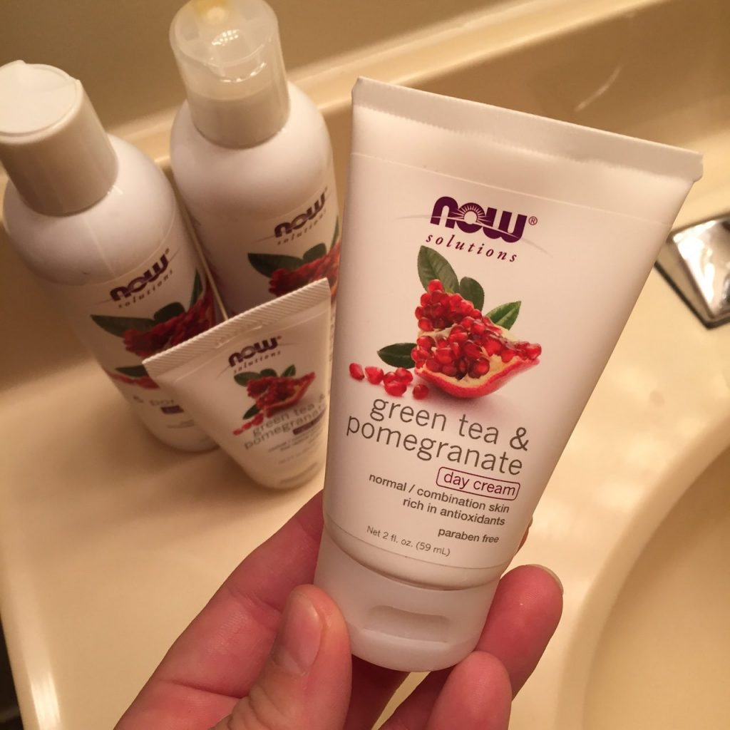 NOW Foods Green Tea and Pomegranate Skin Care