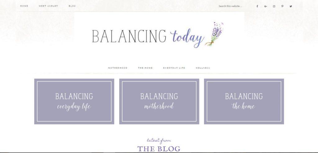 Balancing Today