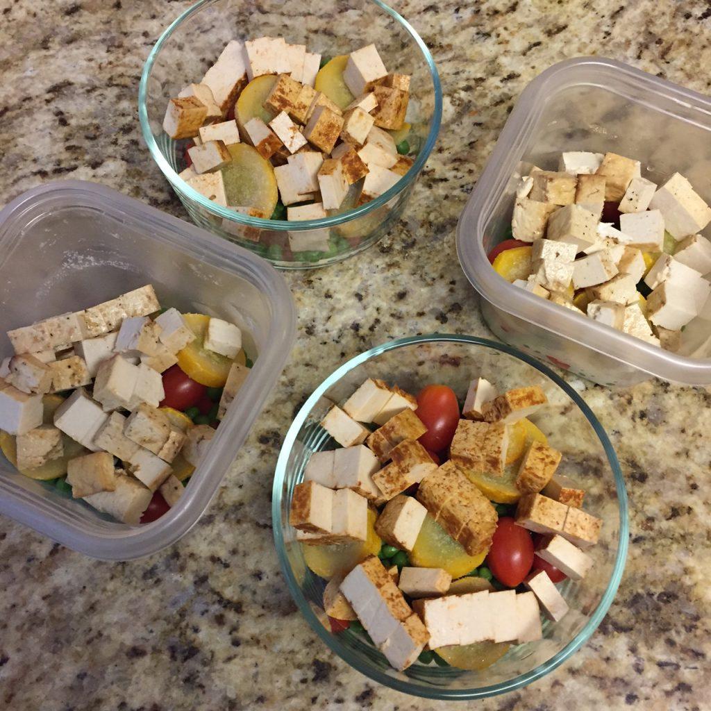 Easy Tofu Rice Bowls