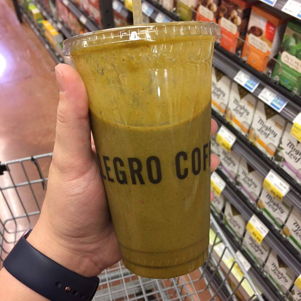 Whole Foods Smoothie
