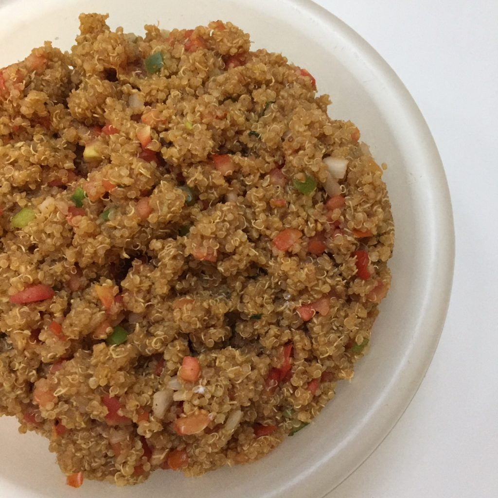 Make Ahead Mexican Quinoa Taco Bowls