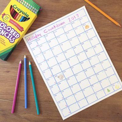 Homemade Countdown Calendar