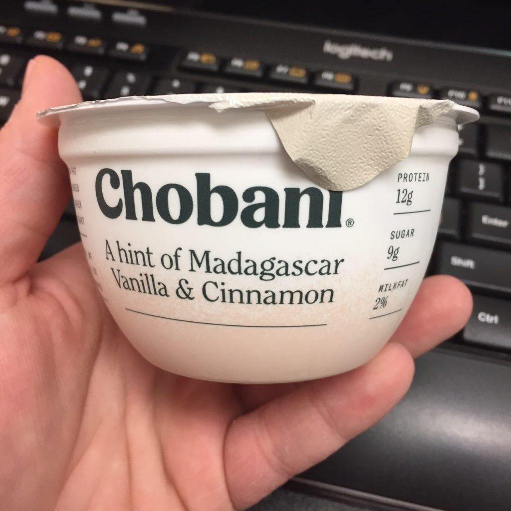 Chobani Vanilla Cinnamon