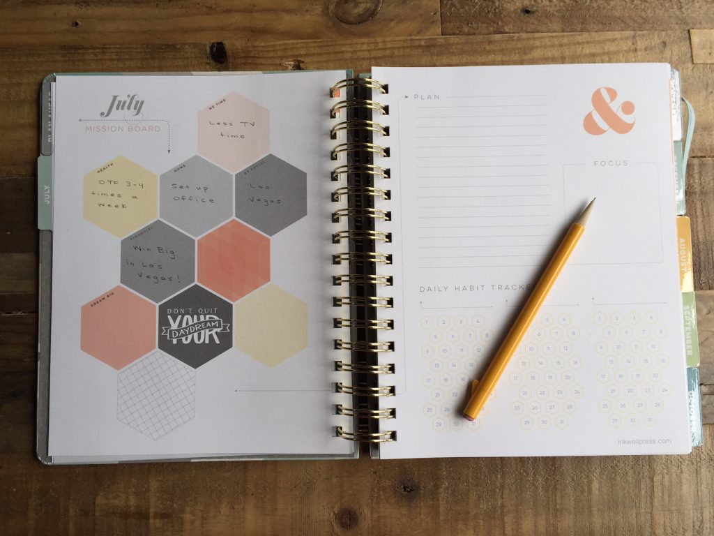 inkWELL Press Academic Planner