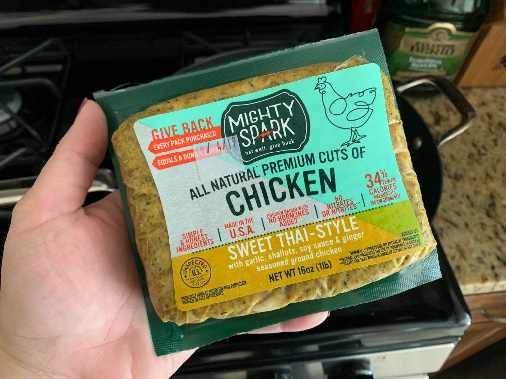 Mighty Spark Sweet Thai Ground Chicken