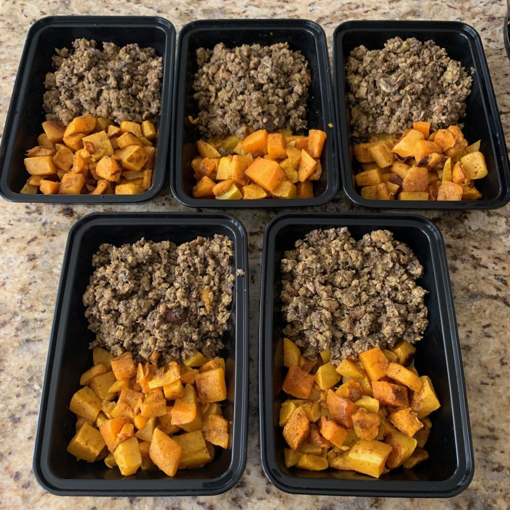 Thai Chicken and Butternut Squash Meal Prep