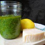 Easy Homemade Lemon Pesto