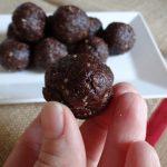 German Chocolate Date Balls
