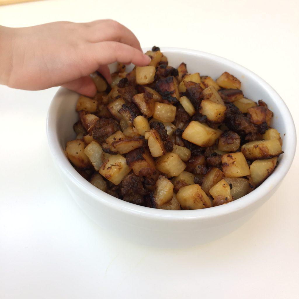 Potato and Chorizo Tacos