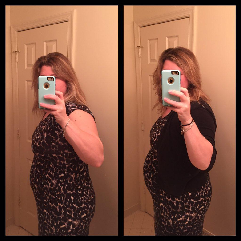 24 week pregnancy comparison